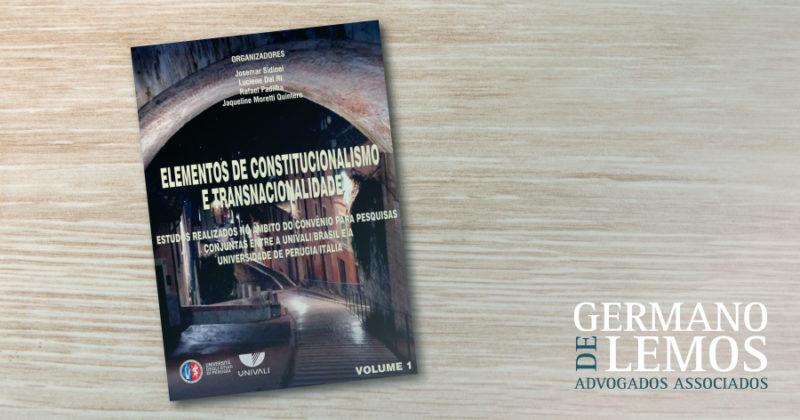 Elementos de Constitucionalismo e Transnacionalidade - Germano de Lemos